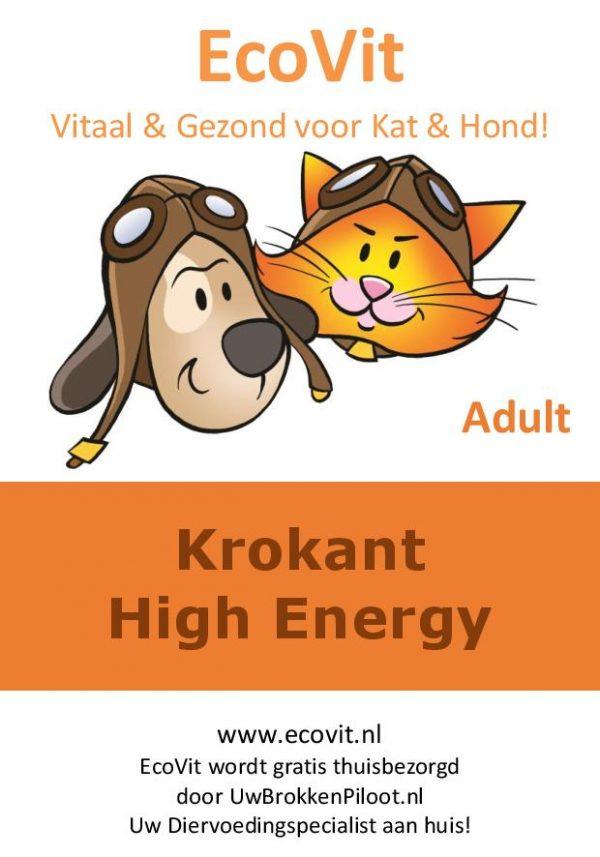 EcoVit Adult Krokant High Energy