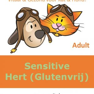 EcoVit Adult Sensitive Hert (Glutenvrij)