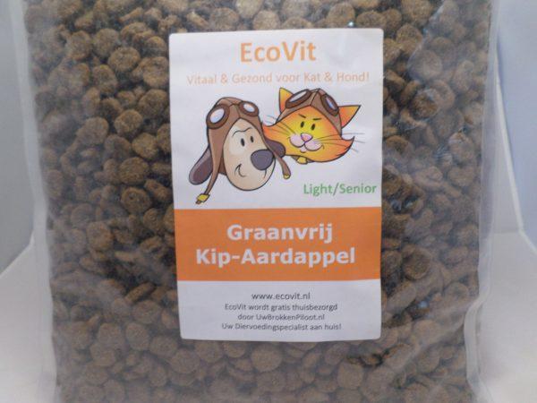 EcoVit Light /Senior Graanvrij Kip-Aardappel