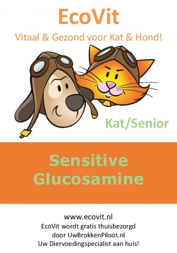 EcoVit Kat Senior Sensitive Glucosamine