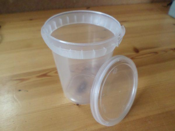 maatbeker met deksel (330 ml)